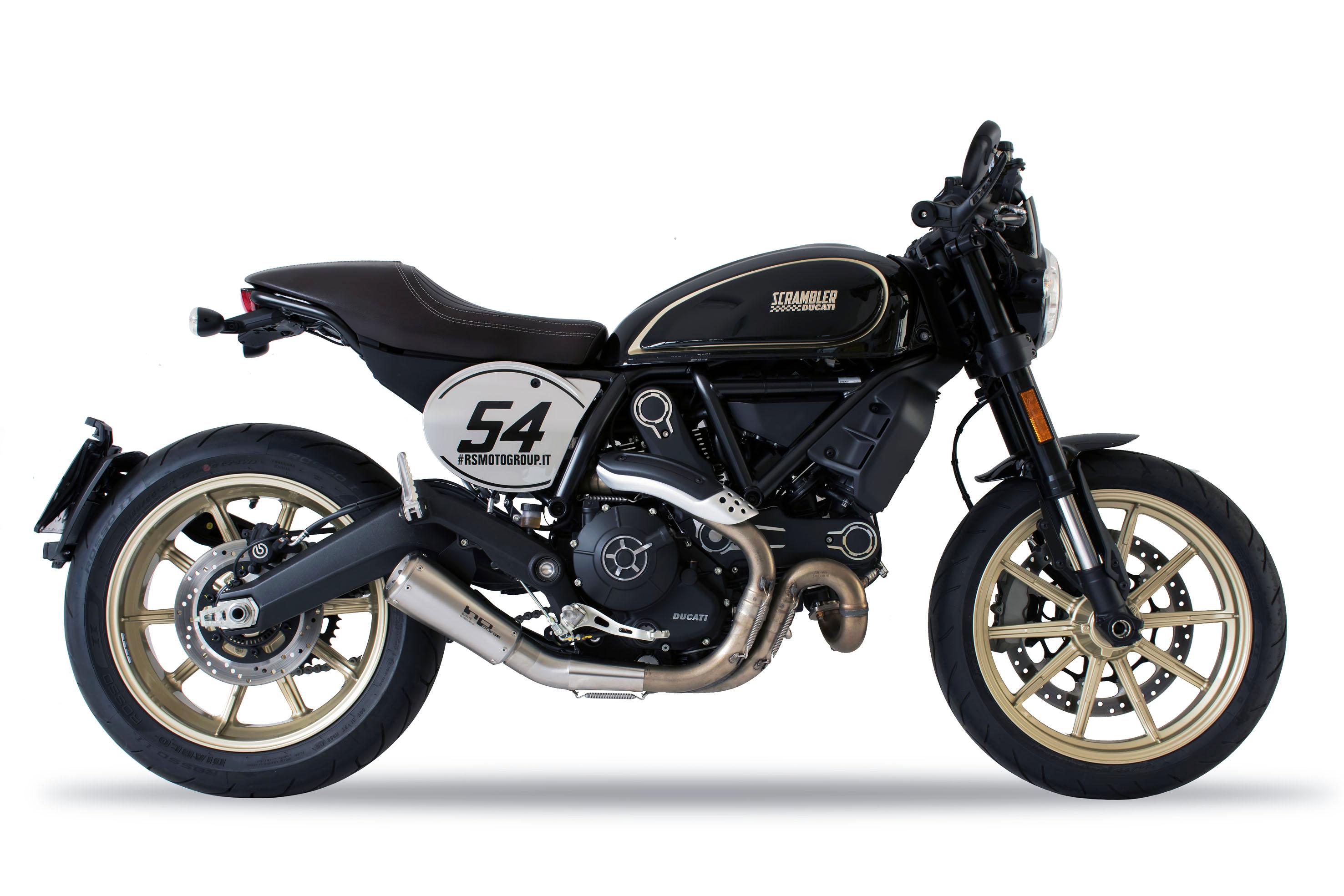 HP CORSE - DUCATI Scrambler Café Racer - GP07 (M-R)