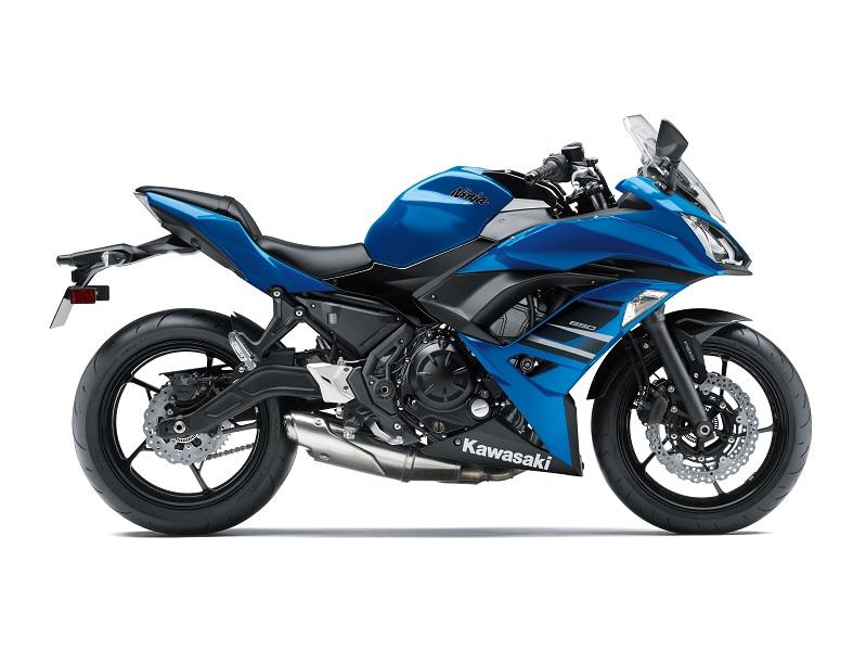 Kawasaki Ninja 650 e Z 650: presentate le nuove colorazioni per il 2018