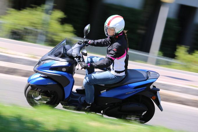 Yamaha Tricity 155: il tre ruote adatto a tutti ed anche per l'autostrada  [PROVA SU STRADA]