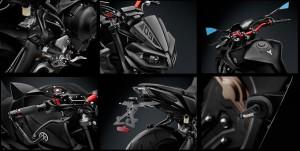 Nuovi accessori Rizoma per Yamaha MT-09