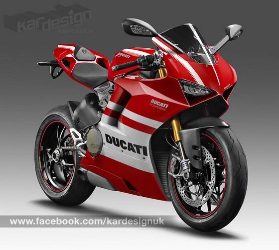 Ducati V4 render, sarà così la nuova sportiva di Borgo Panigale?