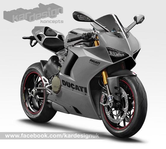 Ducati V4 Render