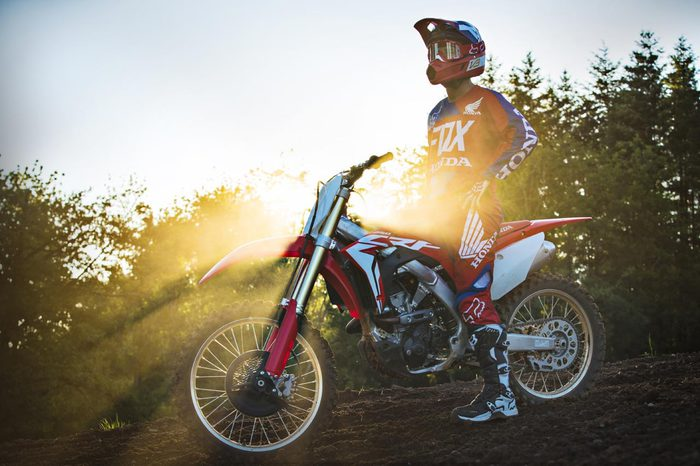 Debutta la nuova Honda CRF250R, model year 2018