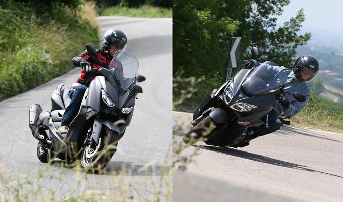 Yamaha X-MAX 400 – Suzuki Burgman 400 MY2018, sfida tra campioni! [VIDEO PROVA COMPARATIVA]
