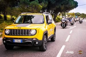 Jeep e Harley Davidson insieme per l'evento conclusivo del 2017
