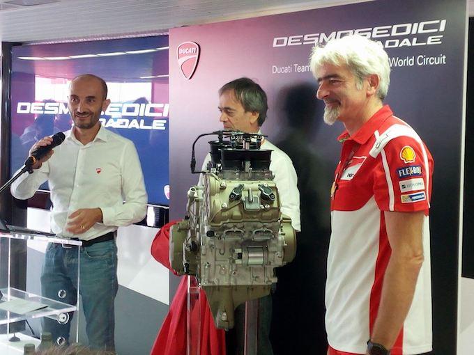Ducati Desmosedici Stradale: oltre 210 cv di potenza derivati dalla MotoGP