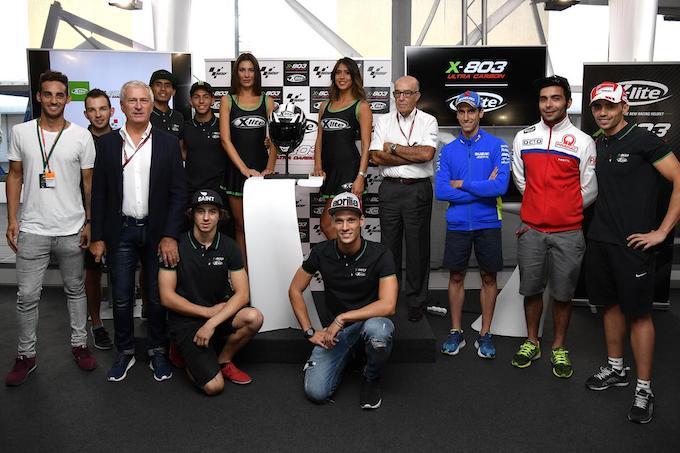 Nolangroup: presentato il nuovo X-lite X-803, tanto carbonio per la MotoGP