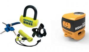 Moto e scooter più sicuri con Oxford SCOOT XA5 Alarm e BOSS