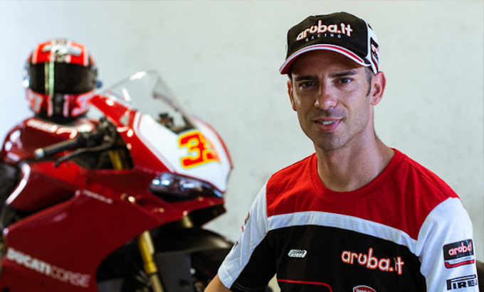 Aruba presenta il Global Cloud Data Center: presente anche il team Superbike