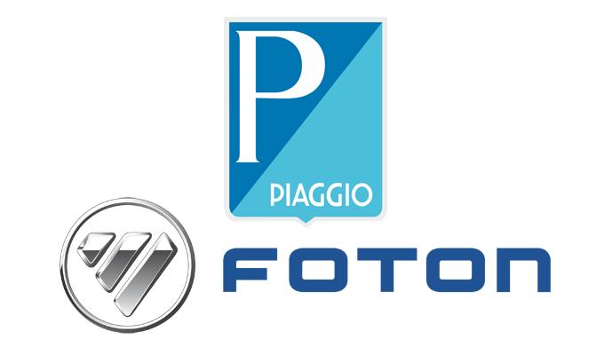 Piaggio e Foton uniti per l'assalto al mercato dei veicoli commerciali leggeri