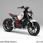 Honda Riding Assist-e, @Tokyo Motor Show 2017