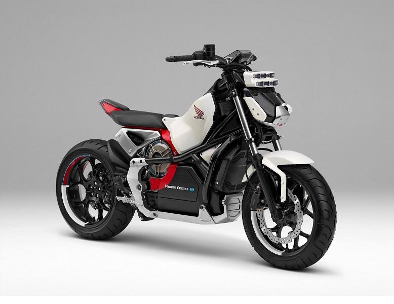 """Honda Riding Assist-E: Il nuovo concept della moto """"che sta in piedi da sola"""""""