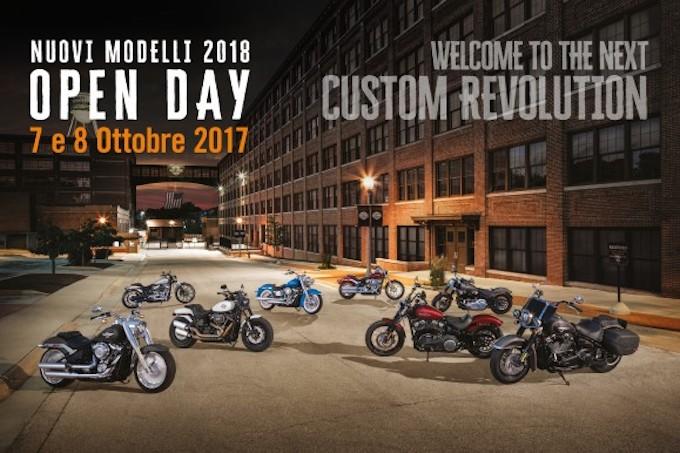 Harley-Davidson: l'open day per scoprire tutte le novità 2018