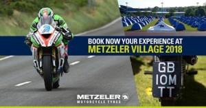 Metzeler Village e Isle of Man TT insieme anche nel 2018