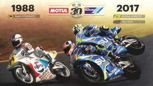 Per Suzuki e Motul 30 anni di successi nel motorsport