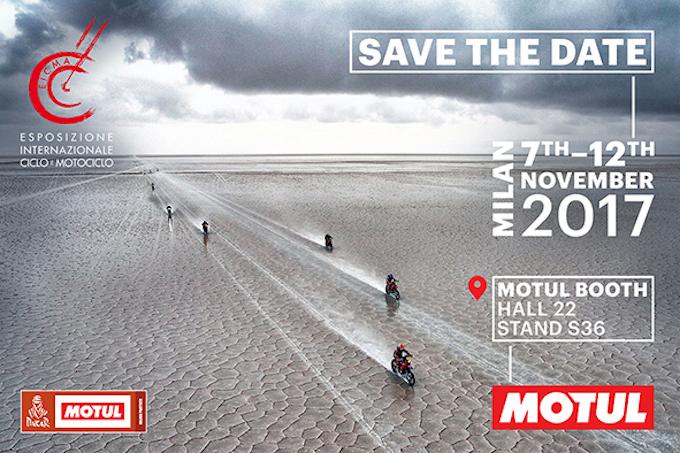 Nasce la partnership tra Motul e Dakar: a EICMA l'ufficializzazione