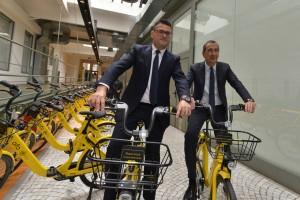 OFO, presentato ufficialmente a Milano il servizio di bike sharing a flusso libero