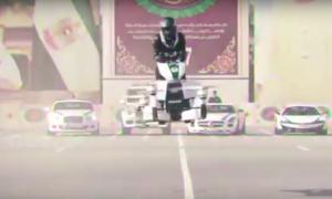 A Dubai arriva Hoverbike, la moto drone [VIDEO]
