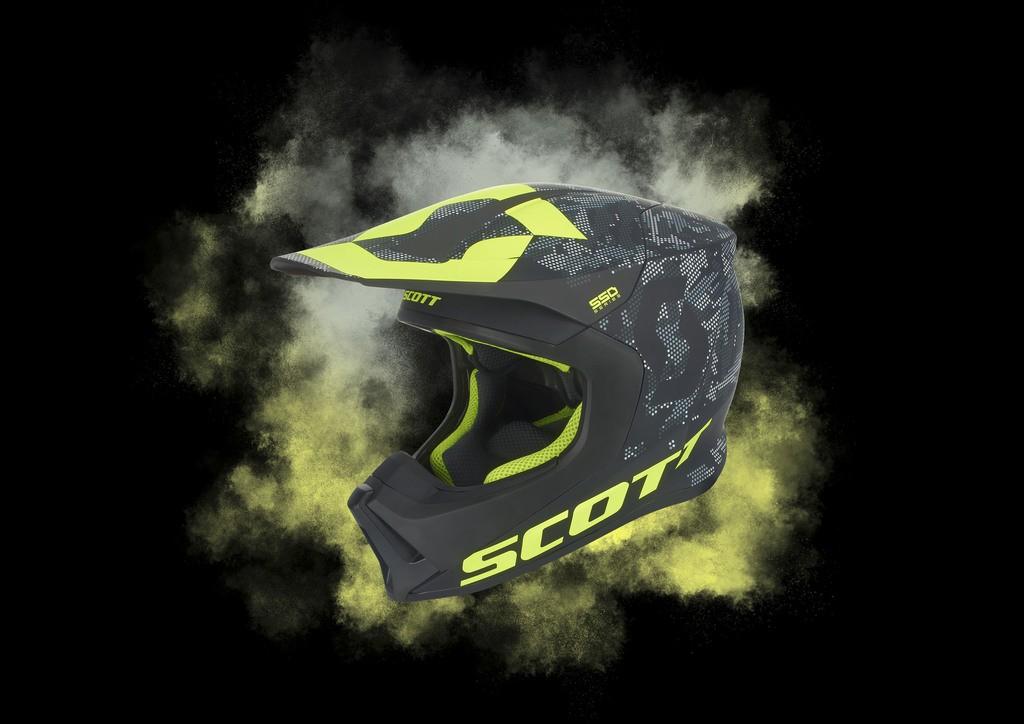 """Scott lancia il nuovo casco MX 550: sicuro e """"fresco"""""""