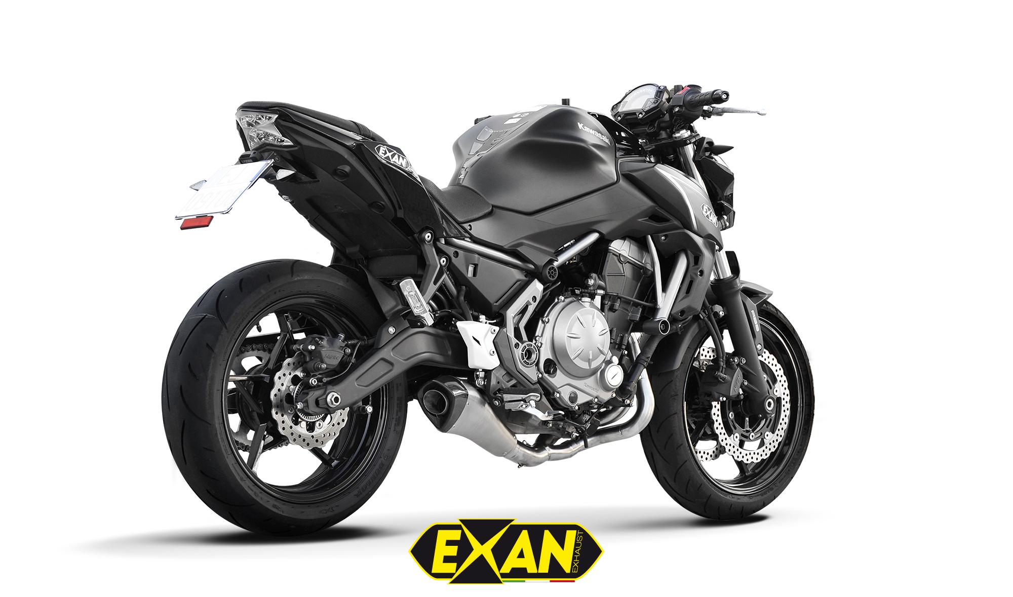 EXAN - KAWASAKI Z650-X-BLACK EVO Acc.Sat.Chiaro-1 (M-R)