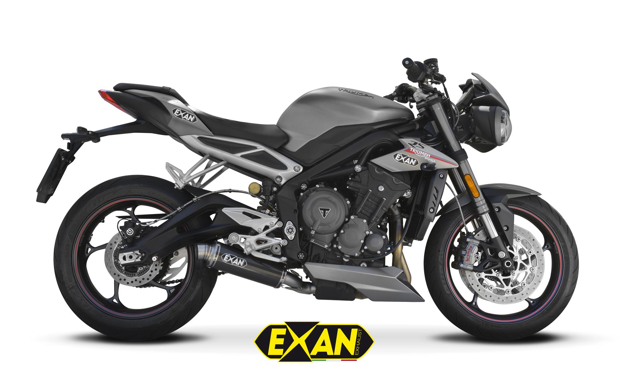 EXAN - Triumph Street Triple-765-2017-X-GP Carbonio