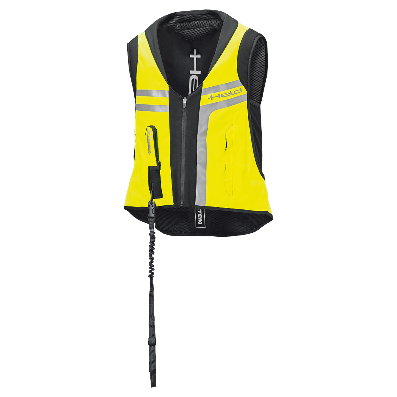 HELD - Giacca Protettiva Gonf. AIR VEST II (Giallo Flou)(Art.6894)(Fronte)