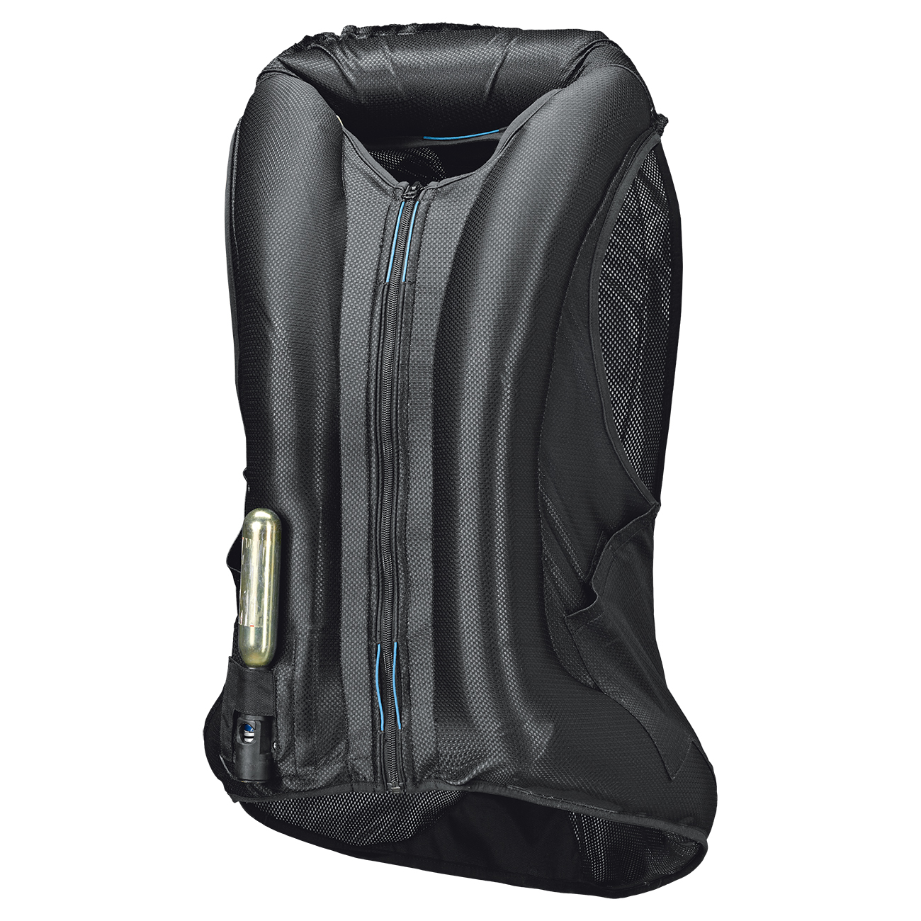 HELD - Giacca Protettiva Gonf. CLIP-IN AIR VEST (Nero)(Art.6893)(Fronte-GONFIO)