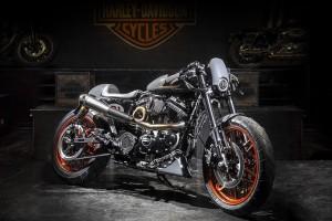 Harley-Davidson: la special bombtrack di Perugia vince la Battle of the Kings 2017