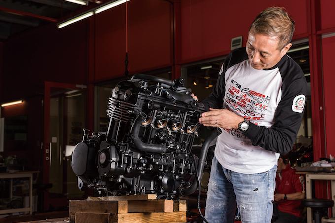 Kawasaki Z900RS diventa opera d'arte con Case Custom Bito R&D, Moto Corse e Doremi Collection
