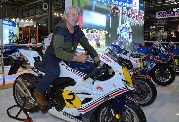 Suzuki: un regalo per Marco Lucchinelli, ecco la GSX-R1000 Replica