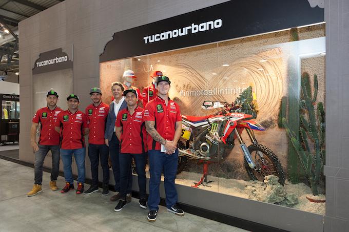 Tucano Urbano: ufficiale l'accordo col Monster Energy Honda Team