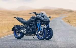 Nuova Yamaha Niken: la tre ruote di Iwata si mostra ad EICMA 2017