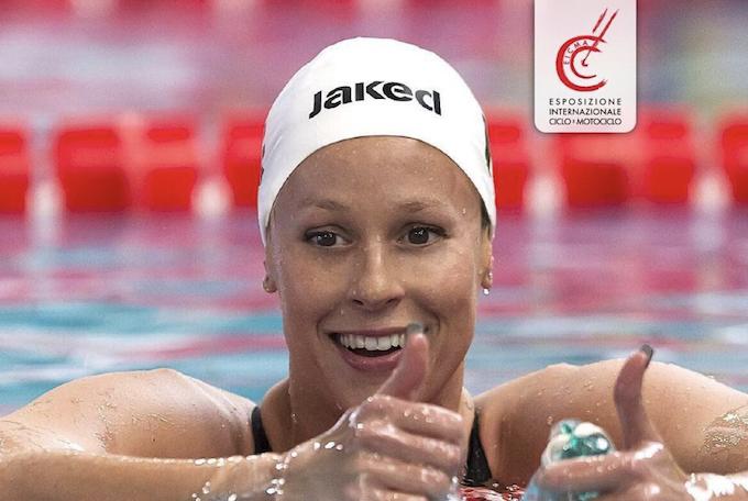 "Federica Pellegrini: ""A Eicma ho visto i valori dello sport sano"""