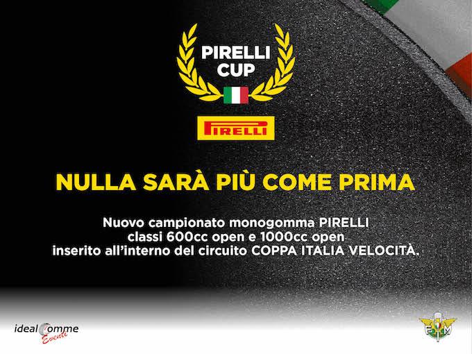 Pirelli Cup: un nuovo appuntamento nel calendario di Coppa Italia Velocità