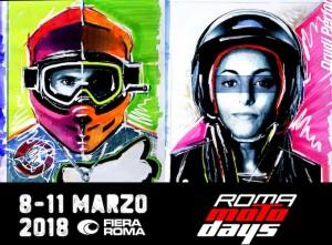 Roma Motodays: nuovo marchio e concept creativo firmati Aldo Drudi