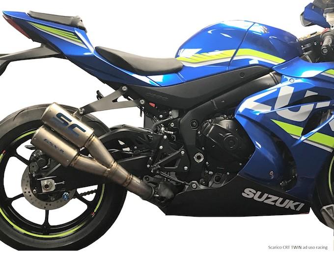 SC-Project: ecco gli scarichi dedicati alla gamma Suzuki