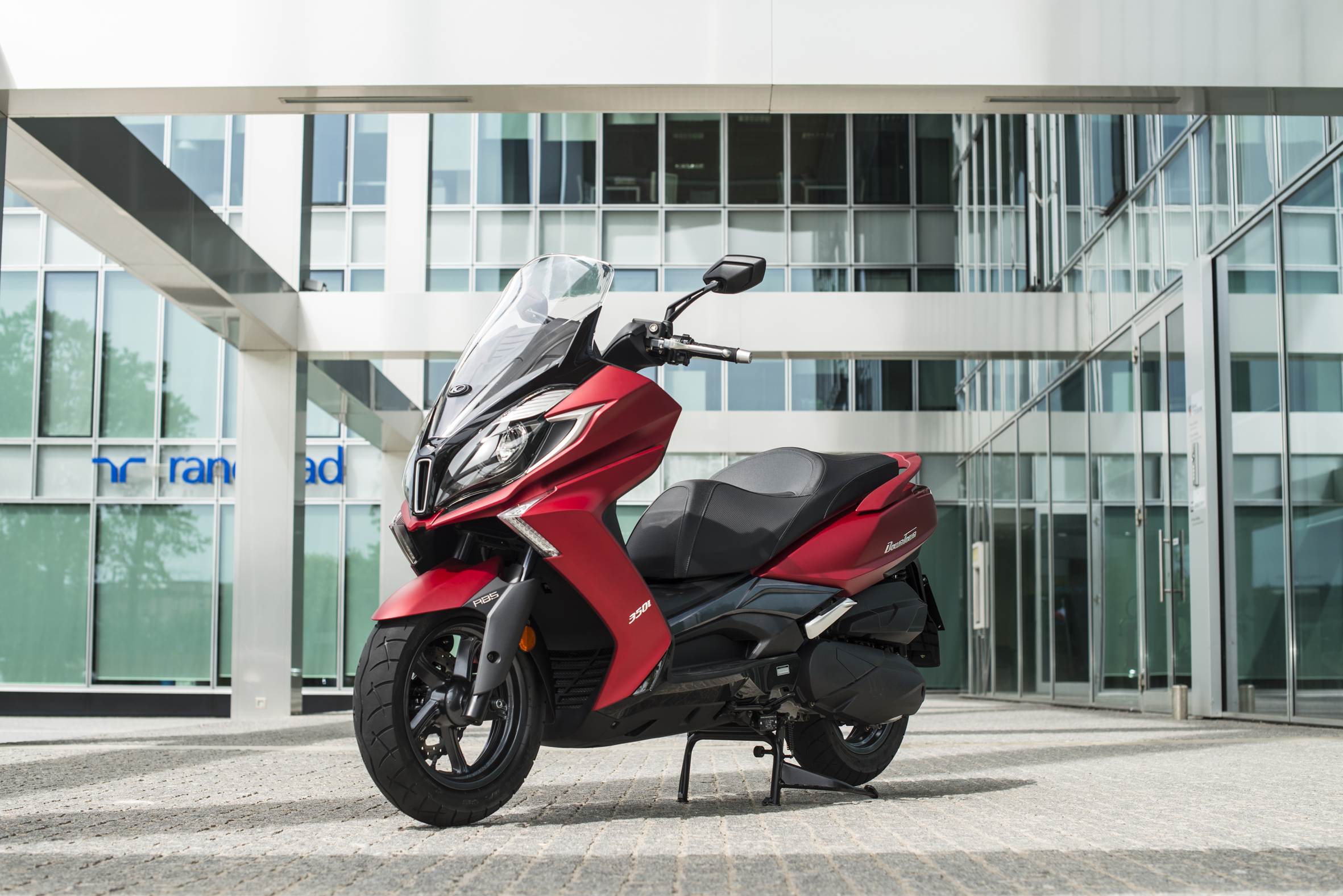 KYMCO DT350_Red