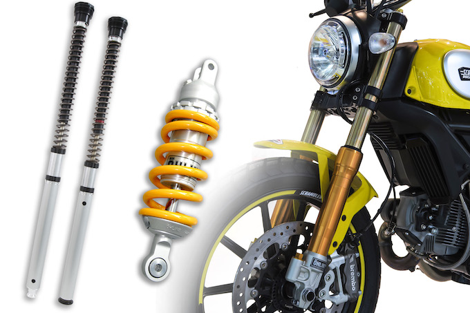 Öhlins: tre novità dedicate a Ducati Scrambler