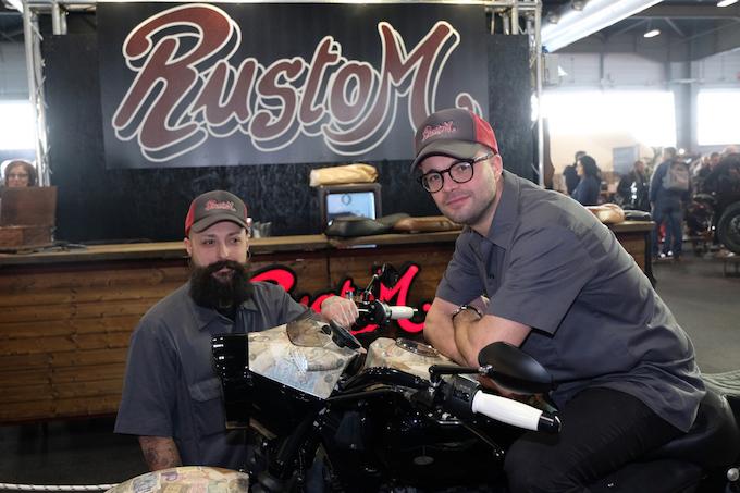 Rustom_Vecchio Conio_Motor Bike expo_2018_1