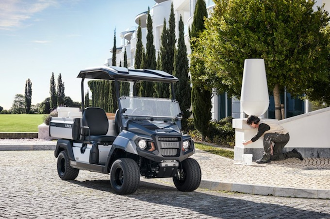 Yamaha: ecco UMX, la nuova golf car elettrica