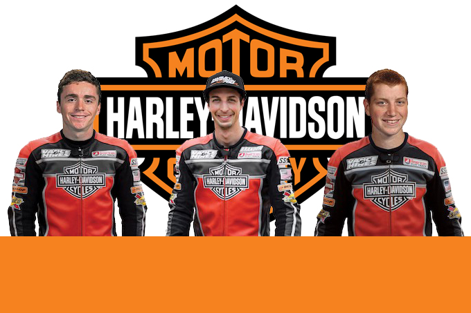 Harley-Davidson: presentato il Flat Track Racing Team 2018