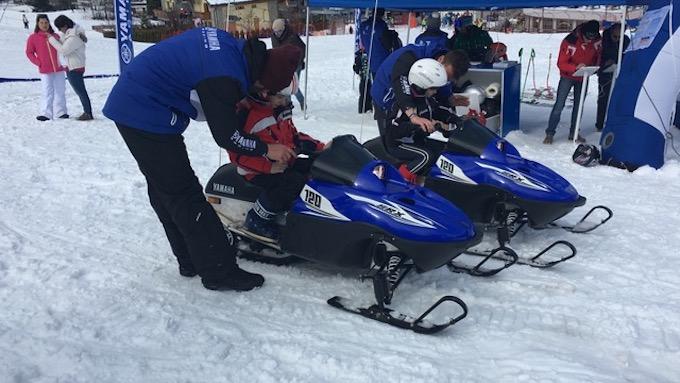 Yamaha: ancora tre appuntamenti con il tour Snow Kids