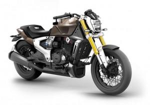 TVS: ecco Zeppelin, la moto ibrida Made in India