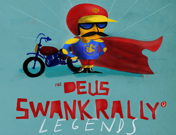 La storia dell'enduro si ritrova per la Deus Swank Rally Legends