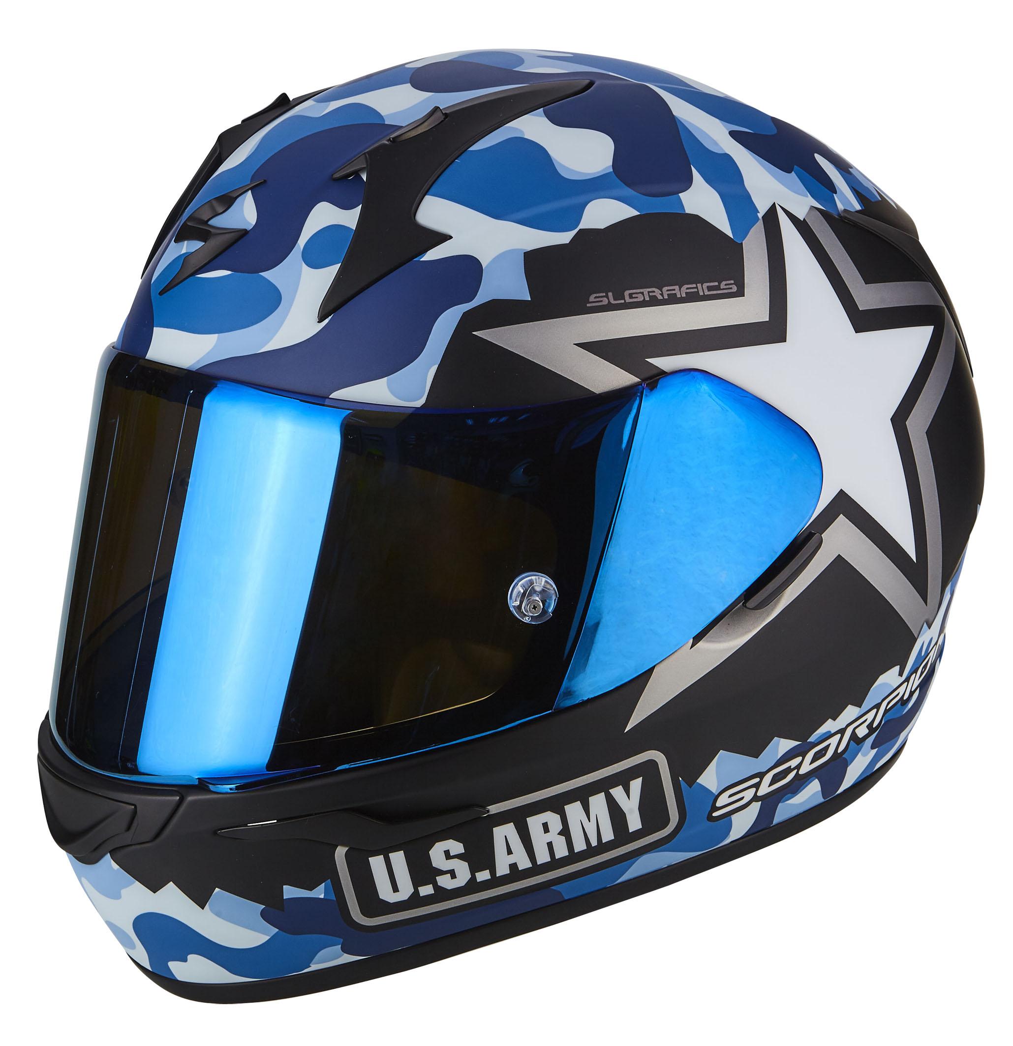 EXO-390 ARMY Matt Blue-Silver