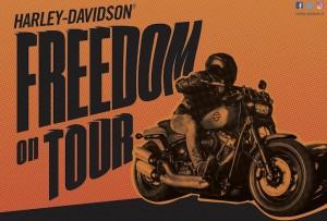 Harley-Davidson: nel weekend prende il via il Freedom On Tour 2018