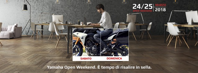 Yamaha – Open Weekend