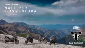 Triumph inaugura al Roma Motodays Triumph Tour