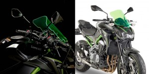GIVI Lime Screens: ecco i parabrezza luminosi per Kawasaki