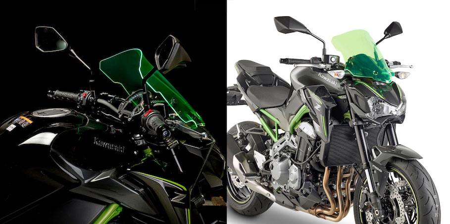 GIVI Lime Screens: ecco i parabrezza luminosi per Kawasaki